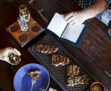 People enjoy Steak & Whiskey