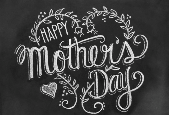 Happy Mother's Day Vintage Sign