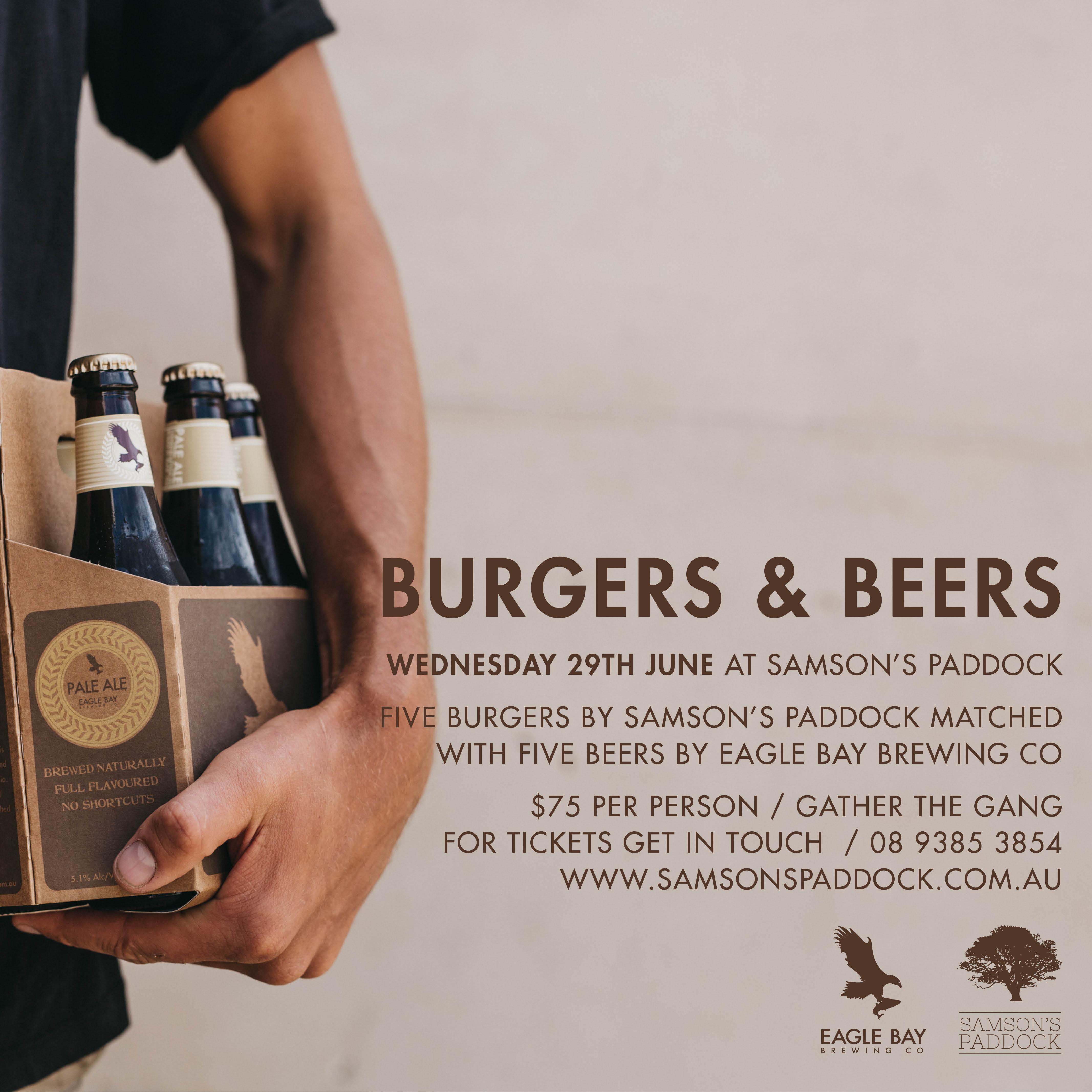 Eagle Bay Beer & Burger Promo