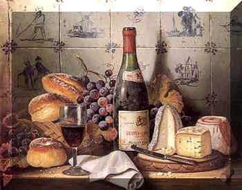 French food & wine degustation