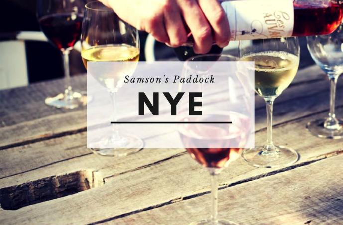 Samson's Paddock NYE Promo 2016