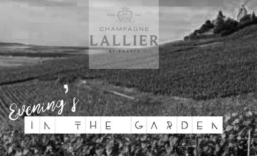 Lallier in the garden