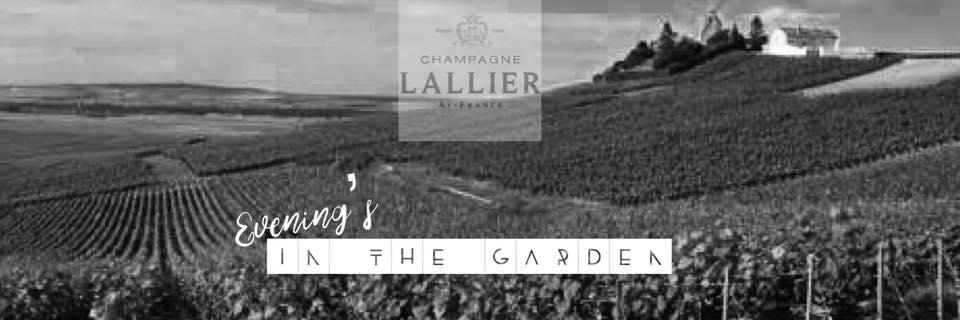 Evening in the garden - event header